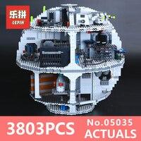 LEPIN 05035 Star Wars Death Star 3804Pcs Building Block Bricks Toys Kits Compatible With 10188 Children