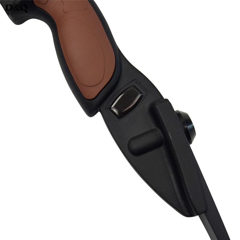 56 стрельба из лука дуга 25 фунтов охота стрельба CS игры изогнутый лук для лево правосторонний с кремниевой защита для пальцев - 3