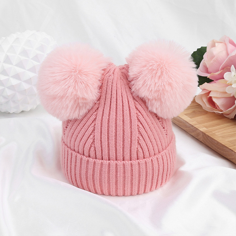 Cute Infant Toddler Kid Baby Boy Girl Thick Warm Fashion Winter Hat With Goggles