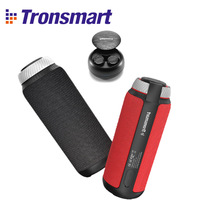 Tronsmart Element T6 Bluetooth Speaker Portable Speaker Subwoofer 25W Column with 15H play time,360 Stereo Sound Speakers