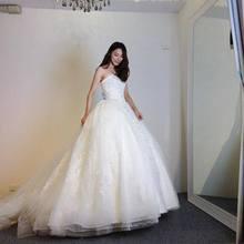 FANGDALING Elegant Wedding Dress 2018 Bride dresses