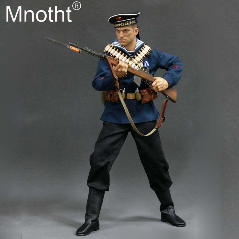 1/6 Scale Male Solider Model toys AL100017 WWII Soviet Red Navy Equipment Set Hobbies Marine Corps Clothes Action figure toy m3 1 6 scale wwii german admiral heydrich model action figure toys did 3r gm633 soldier toys collections m3