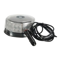 Safurance 16W 32LED Magnetic Round Car Roof Lamp Emergency Warn Strobe Flash Light Amber Traffic Light
