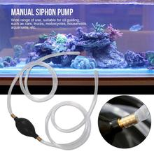 Car Siphon Hose Manual Pump Fuel Pipe Pumping Pipe Oil Gasoline Pump Suitable For Car Truck Motorcycle Home