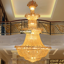 światła żyrandole Hotel kryształowy