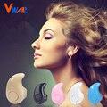 Vwar mini s530 música estéreo bluetooth auriculares 4.0 auriculares en la oreja auricular inalámbrico de auriculares manos libres para samsung iphone 7 6