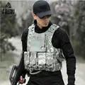 De los hombres chaleco táctico caza Airsoft camuflaje uniforme militar de combate Vest Colete Tatico ejército ropa sello marina