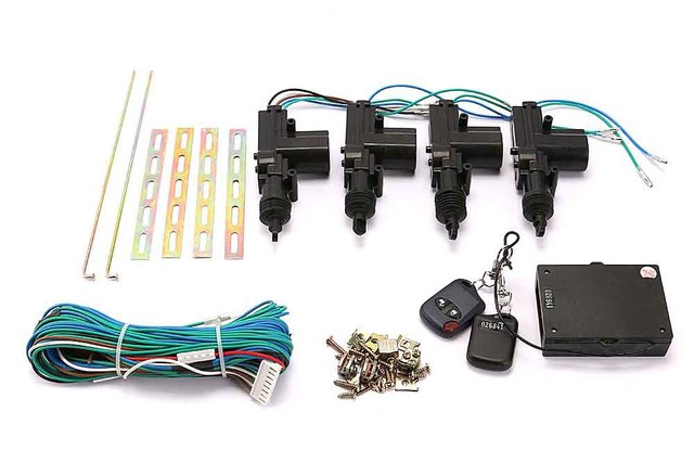 Wholesale 4 Door Power Lock Conversion Kit W 2 Keyless Entry Remote