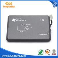 Yongkaida Beste Kwaliteit 10 stks/partij Nieuwe USB RFID ID Contactloze Proximity EM4001 EM4100 Windows Smart Kaartlezer