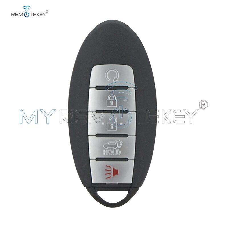 Clé intelligente Remtekey pour Nissan Rogue 2017 2018 KR5S180144106 285E3-6FL7B S180144110 5 bouton 433mhz 4A puce voiture clé à distance