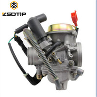 Free shipping ZSDTRP PD30J GY6 250 cc scooter Carburetor parts Vacuum model universal fit on other 250cc Scooters