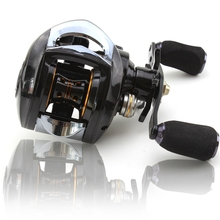 Casting Reels 12 + 1 Bearings Left / Right Hand Baitcasting Fishing Reel High Speed with Magnetic Brake System