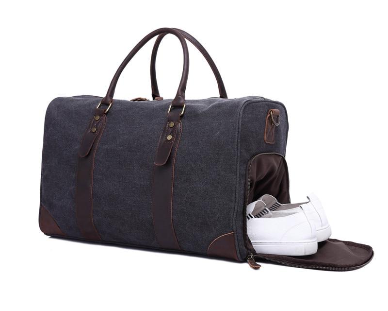 Nesitu High Quality Vintage Big Large Capacity Grey Army Green Canvas Women Men Travel Bags Messenger Bag #M3070 цена 2017