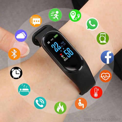 אופנה חכם שעון ילדים שעונים לילדים עבור בנות בני ספורט צמיד חכם שעון מותג כושר Tracker Smartwatch ילד מתנות
