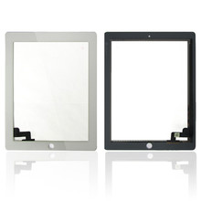 Replacement Mobile Phone Touch Panel White Black Touch Screen Glass Digitizer For iPad 2 B0009
