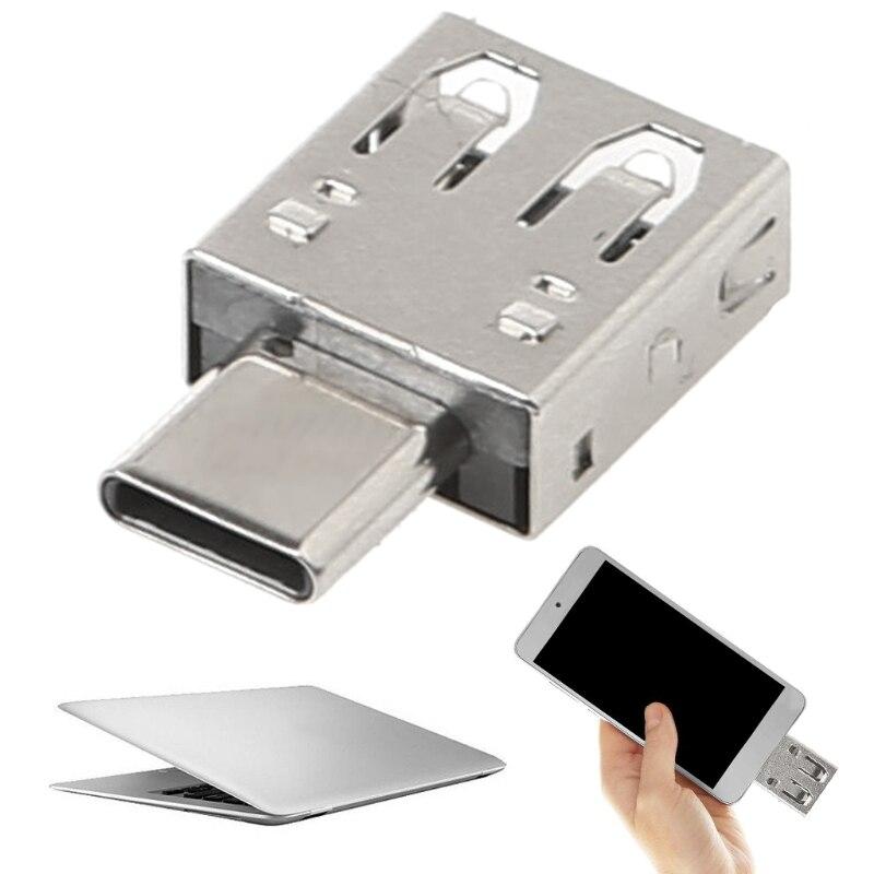USB Type C Adapter Type C To USB 2.0 Hub Converter OTG Adapter for Macbook Samsung S9 S8 Xiaomi 5 6