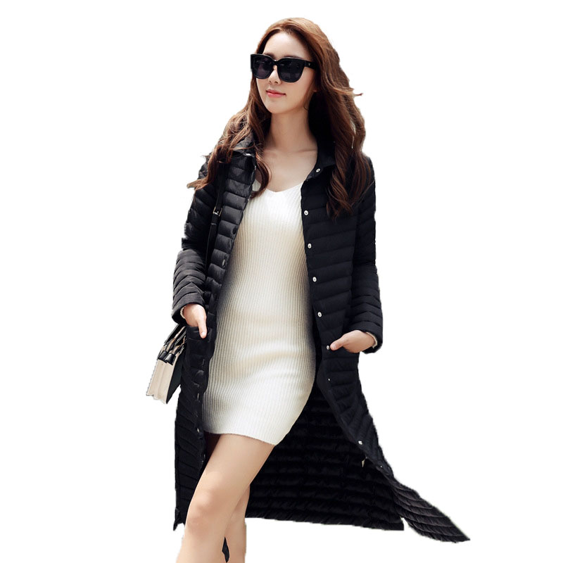 2017 New Fashion High Quality Autumn Jacket Women Winter Coat Warm Clothes Outwear Cotton Padded Long Jacket Coat Slim Trench 2017 new fashion winter coat women warm outwear padded cotton jacket coat womens clothing high quality parkas manteau femme 520