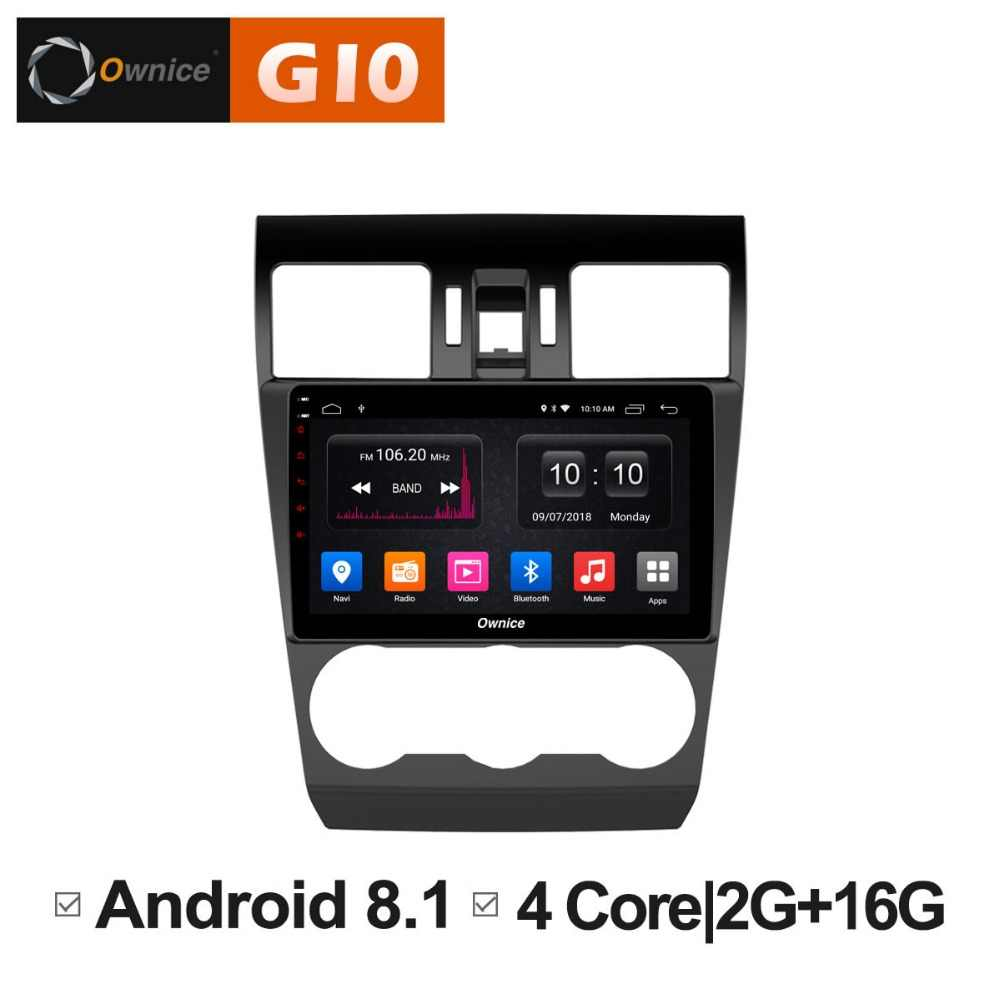 2GB RAM+16GB ROM Android 8.1 Quad Core 9 inch Car DVD Player For Subaru Forester 2013 2014 2015 2016 GPS Navi Radio Stereo BT