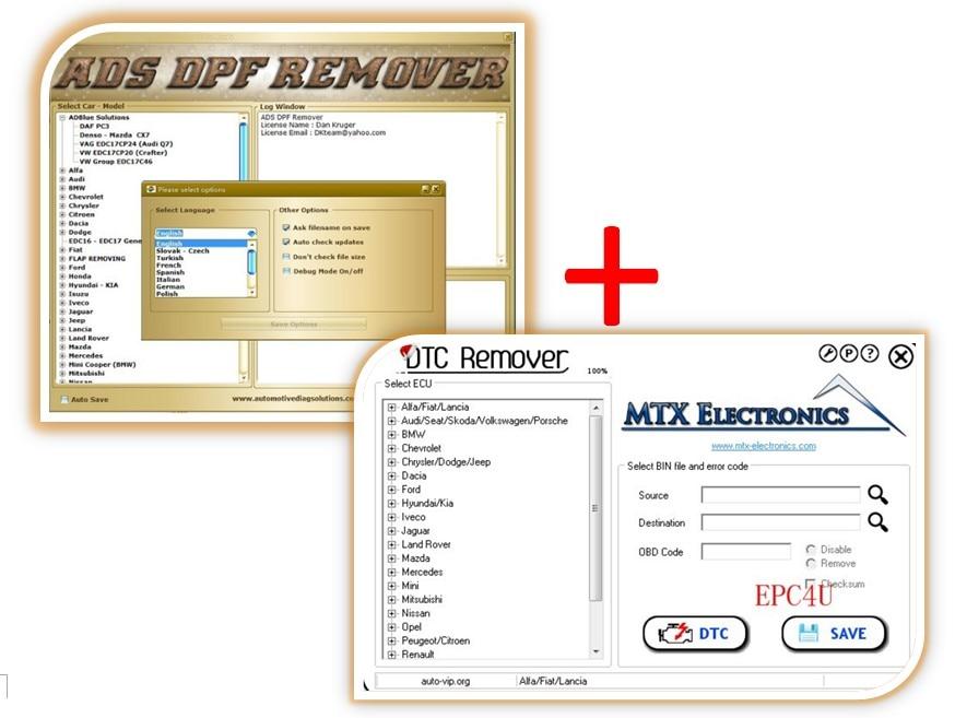 US $12 82 5% OFF|2017 MTX DTC Remover 1 8 5 0 Keygen+Software+DPF EGR  Lambda Remover on Aliexpress com | Alibaba Group
