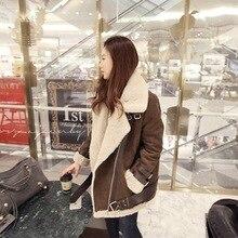 Зимние Куртки Куртки Пальто Женщин Пальто Замши Британский Стиль
