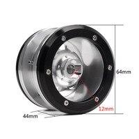 4Pcs 2.2 Inch Metal Beadlock Wheel Rim / Hub for 1/10 RC Rock Crawler Axial SCX10 RR10 90053 AX10 Wraith 90056 90045 YETI 90026 6