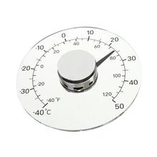 Круговой прозрачный наружный термометр для окна температура Метеостанция инструмент