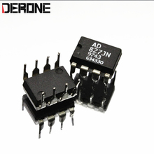 2 piece AD827JN AD827  Original dual op amp for power amplifier Used products made in Philippines