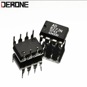 Image 1 - 2 piece AD827JN AD827  Original dual op amp for power amplifier Used products made in Philippines