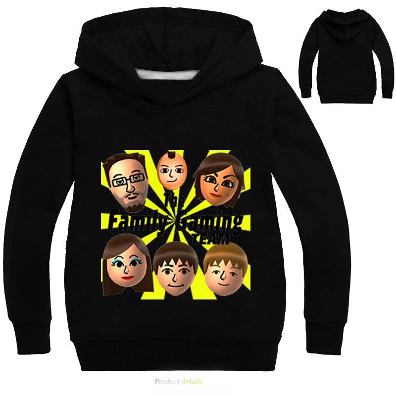 Летние fgteev лица детская куртка для Футболки, топы, безрукавки для девочек и мальчиков молодежи YouTube Семья игровой дадди fgtv подростков Толсто...