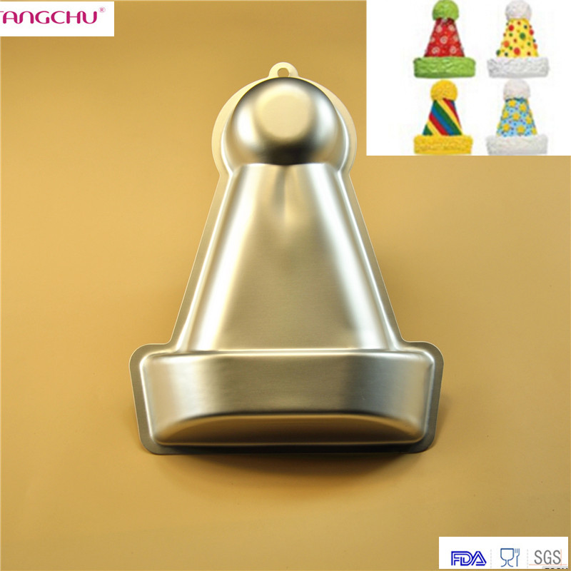 font cap shape baking pastry mold pan baseball hat cake chocolate molds