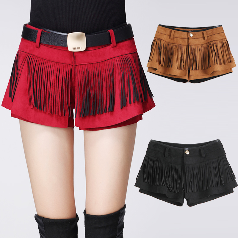 2016 new spring and autumn sexy clubwear Women booty Shorts Skirts Fashion casual Ruffles mini short pants without Belt OM836