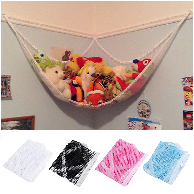 New Kids Toy Soft Teddy Storage Hammock Mesh Baby Bedroom Tidy Nursery Net
