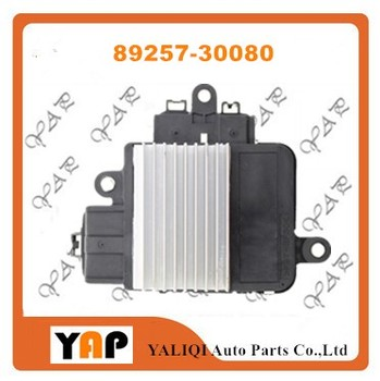 Cooling Fan Control Unit Module VOOR FITToyota Camry Highlander Venza Avalon RAV4 2.7L 3.5L 89257-30080 89257-30060 82005-2014