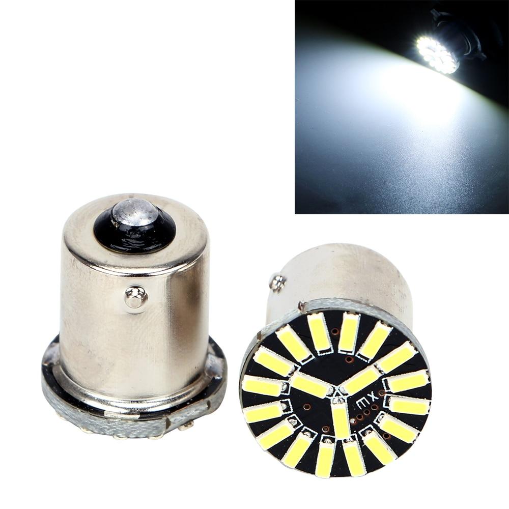 Itimo ba15s автомобиля светодиодные сигнальные лампы canbus авто интерьер свет 1 Пара 1156 4014 19SMD DRL Хвост Тормозной Фонарь Высокое Качество