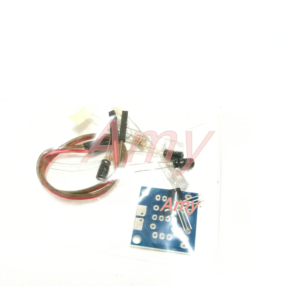 5pcs/lot Diy electronic production suite / simple flash circuit production suite / 5MM LED flashes Kit Easy