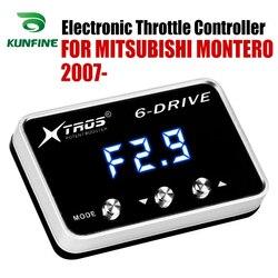 Elektroniczny regulator przepustnicy Racing akcelerator wspomagacz dla MITSUBISHI MONTERO 2007 2019 części do tuningu akcesoria w Elektronicznie sterowane przepustnice do samochodów od Samochody i motocykle na