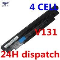 14 4V 2600mAh Battery For Dell Inspiron N311z N411z Vostro V131 V131D V131R H2XW1 H7XW1 JD41Y