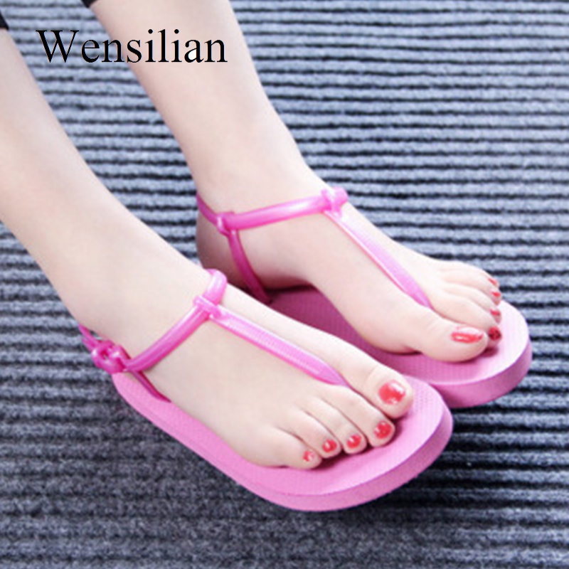 Summer Gladiator Sandals Women Flat Sandals Female T-tied Flip Flops Beach Shoes Slides Ladies Flat Shoes Casual Zapatos Mujer espadrilles retro gladiator sandals women genuine cow leather flip flops sandals lace up shoes black brown zapatos mujer