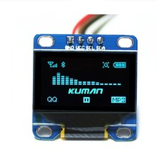 Miroad 0.96 Inch Blue IIC OLED Moudle I2c IIC Serial 128×64 LCD Display for Arduino Raspberry pi KY34-B