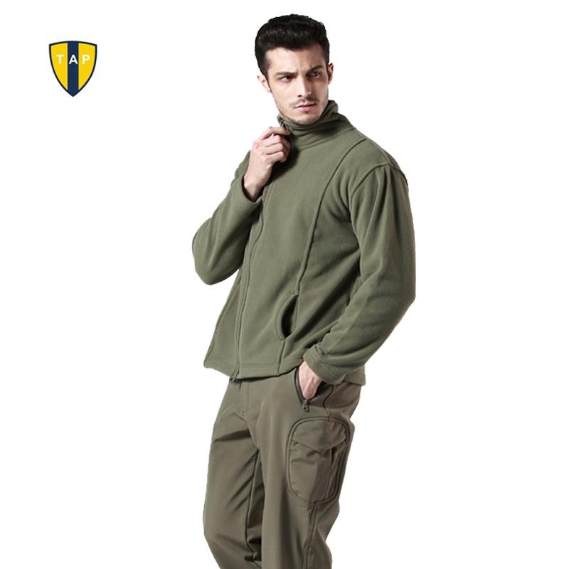 EE.UU. Militar Hombre Vellón Táctica Polartec Térmica Transpirable Chaqueta Al A