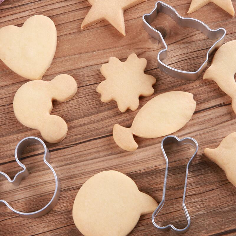 1pc Cookie Mold Baking Mould Cutter DIY Biscuit Fondant Sugarcraft Making For Party Kitchen Tools