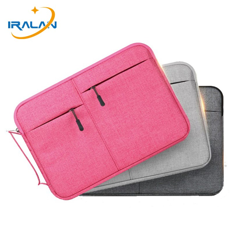 2018 New Laptop bag for Macbook Air Pro Retina 11 12 13 15 15.6 inch handbag sleeve Case Waterproof Women men computer Notebook