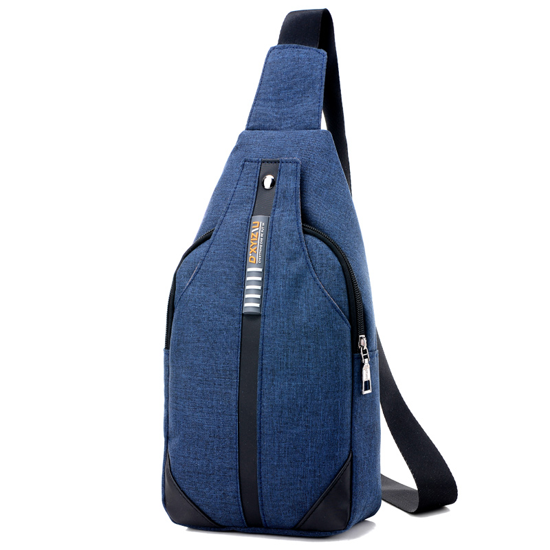 New Unisex Sling Shoulder Bag Fashion Men and Women Messenger Bags CrossBody Small Shoulder Chest Pack Fanny Bag Multi Function