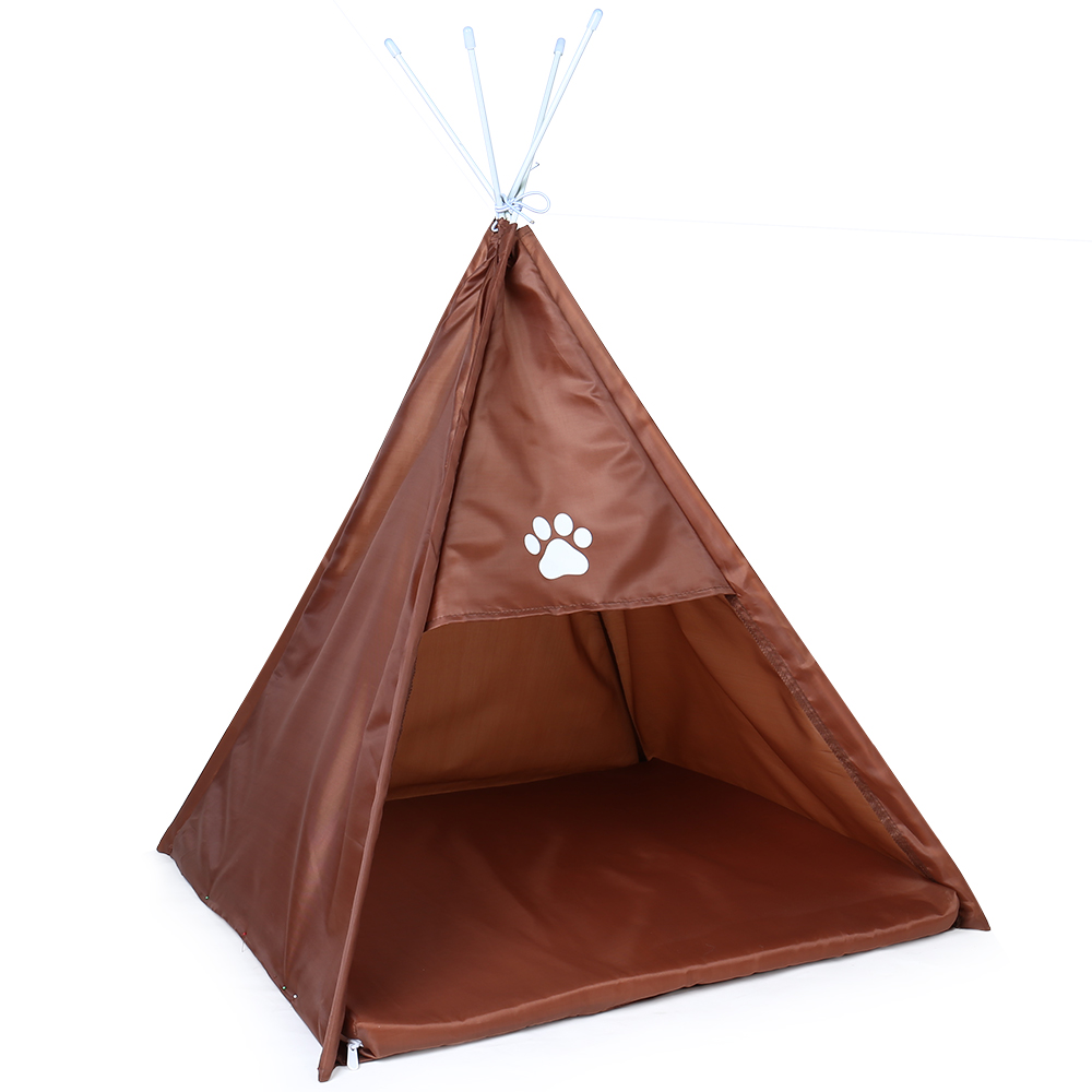 Pet House Tent Shaped Pet Cozy House Cat Home Small Dog Cat Foldable Bed Cat House Puppy Kitten Bed Animals Home Products 8