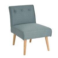 EGGREE Orta Yüzyıl Modern Stil Koltuk Kanepe Sandalye Bacaklar Ahşap Oturma Odası Mobilya Yatak Odası sandalye Accent Sandalye