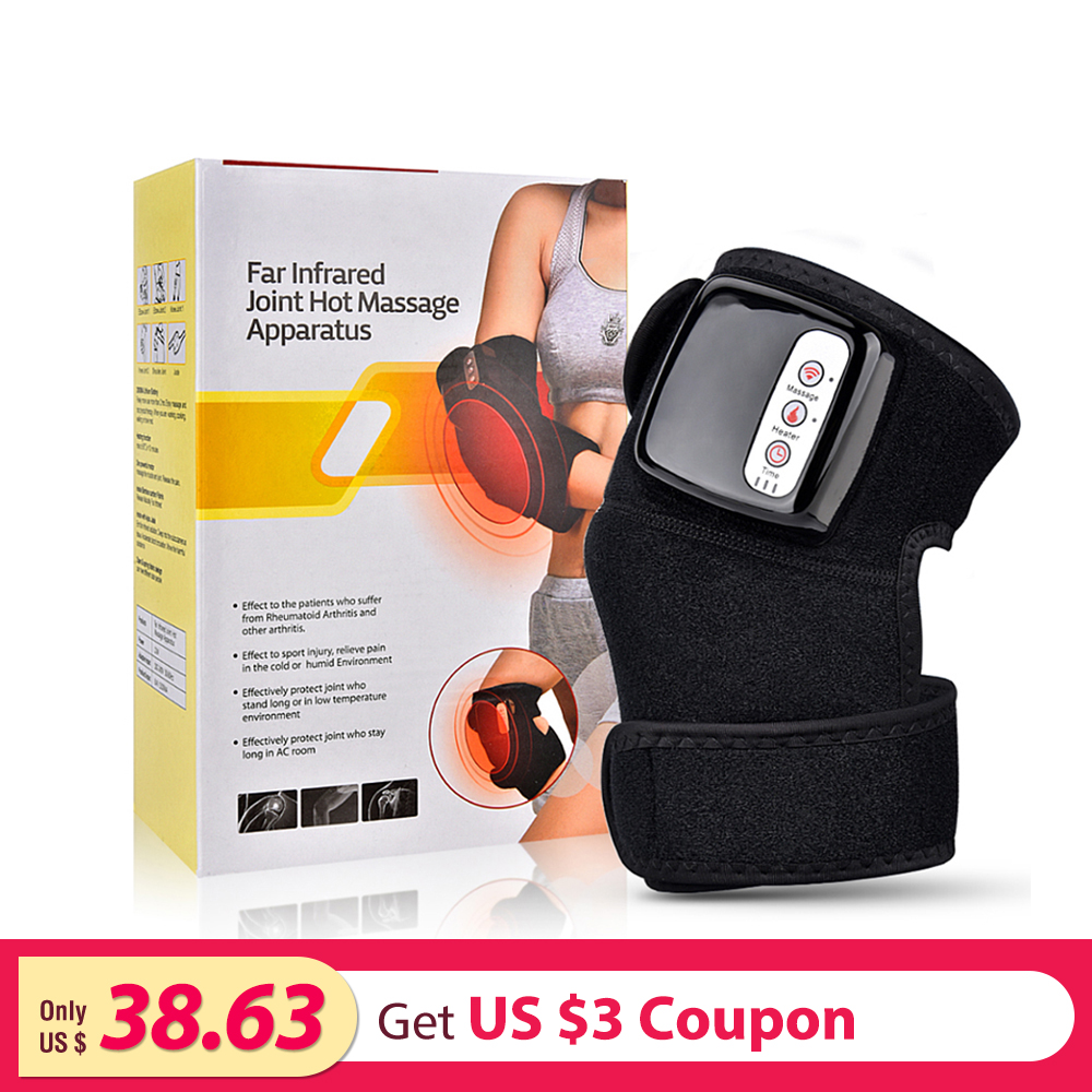 Heating Knee Brace Physiotherapy Therapy Arthritis Relief Pain Knee Arm Shoulder Support Heat Magnetic Vibration Knee ProtectorHeating Knee Brace Physiotherapy Therapy Arthritis Relief Pain Knee Arm Shoulder Support Heat Magnetic Vibration Knee Protector