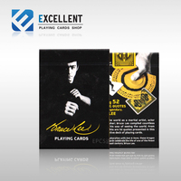 [EPCS] the United States imports of playing cards Bruce Lee DD Bruce Lee flowers to commemorate playing cards Magic DecK Props