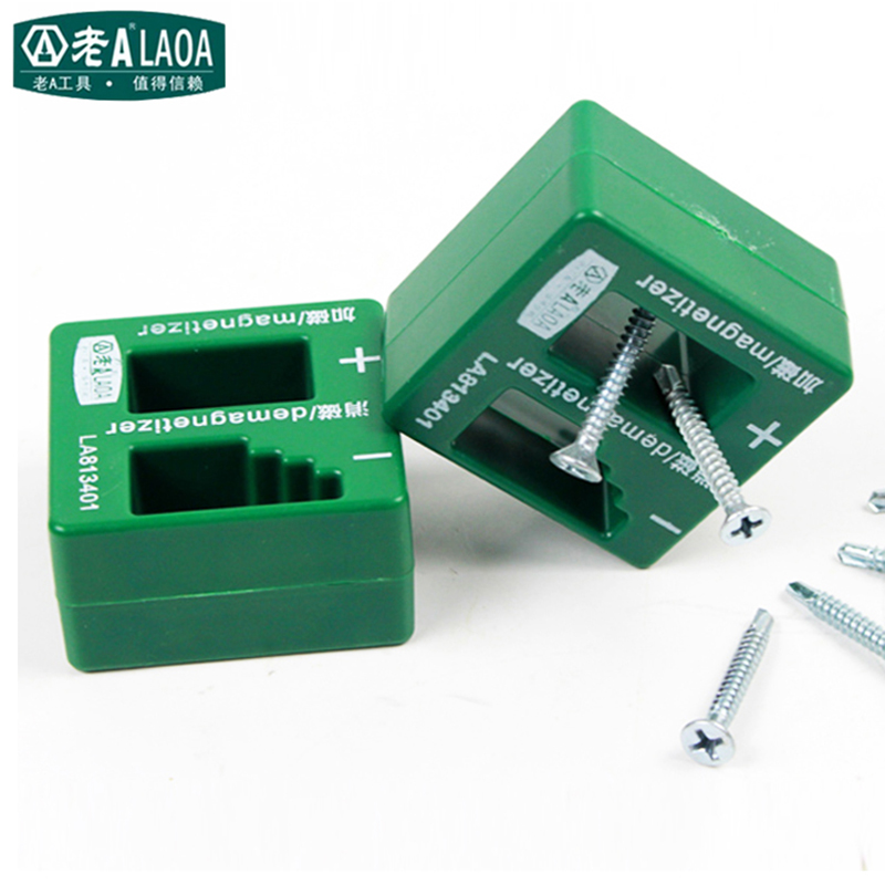 Destornillador de marca LAOA Bits Magnetizer Tool y desmagnetizer Tool Destornillador magnético