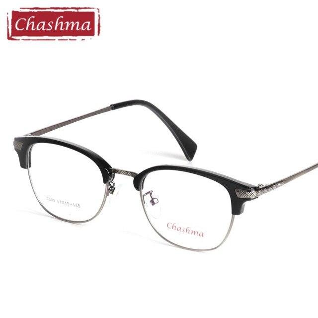 f301ea58eef3d Chashma Grife TR 90 Óculos de Leopardo Preto Óculos Fashion Olho Full Frame  Eyewear Adolescentes Estudante