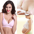 NEW HOT Women Feeding Nursing Pregnant Maternity Bra Breastfeeding Sleep Tops H99